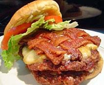 Rib-O-Lator Burger